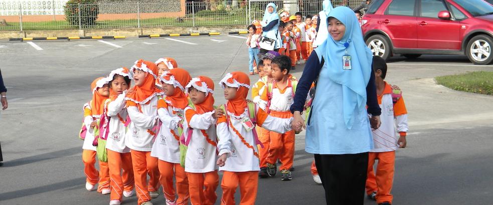 Kunjungan Edukasi TK Al Falah